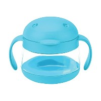 Ubbi Tweat Snack Container, Blue, 9 Ounce by Ubbi