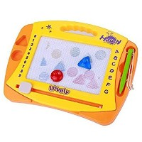 Arshiner Magnetic Drawing Board Colorful Erasable Large Size Doodle Sketch(Gift for Kids)