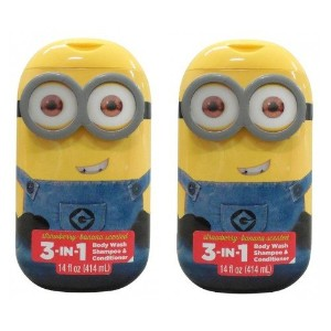 Despicable Me Minions 3 in 1 Body Wash Banana & Strawberry by Despicable Me Minions