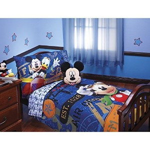 Disney Mickey Mouse Toddler Bedding Set by Disney
