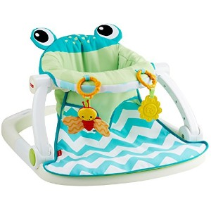 Fisher-Price Sit-Me-Up Floor Seat, Citrus Frog by Fisher-Price [並行輸入品]