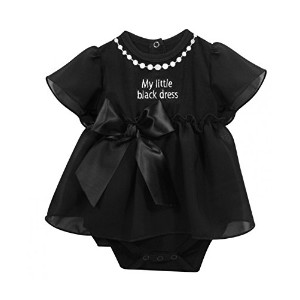 Stephan Baby My First Little Black Party Dress Ruffle-skirted Diaper Cover, 3-6 Months by Stephan...