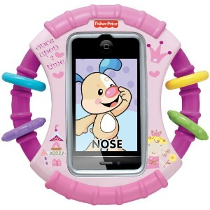 Fisher-Price フィッシャープライス Laugh & Learn Case for iPhone & iPod Touch Devices Pink [並行輸入品]