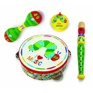 World of Eric Carle, The Very Hungry Caterpillar Instrument Gift Set - Boxed by Kids Preferred ...