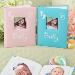 BABY Brag Book PHOTO Album for PURSE of Desk - New MOM - GRANDMA - 1st PICTURES (GIRL - Pink) by FC