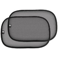 Safe Fit Easy-On Cling Shade, Black, by SafeFit