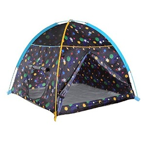 Pacific Play Tents Galaxy Dome Tent with Glow In Dark Stars Playhouse [並行輸入品]