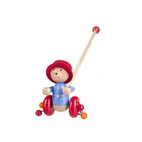 Orange Tree Toys Paddington Bear Push Along