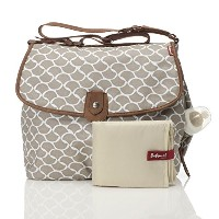 Babymel BM6723 Satchel Diaper Bag, Wave Fawn, One Size by Babymel