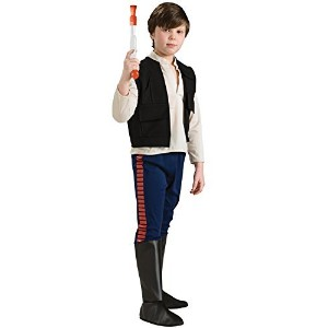Star Wars Deluxe Han Solo Child's Costume, Large [並行輸入品]