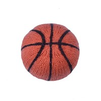 Estella Hand Knit Organic Basketball Rattle Baby Toy by Estella, Designed for Children
