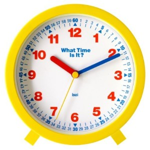 Bai What-Time-Is-It Learning Clock [並行輸入品]