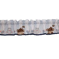 Bedtime Originals Mod Monkey Window Valance by Bedtime Originals