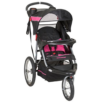Baby Trend Expedition Jogger Stroller, Bubble Gum by Baby Trend