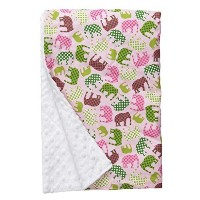 "Baby Elephant Ears Ultra Soft Baby Blanket (XLarge (42""x32""), Pink Elephant) by Baby Elephant Ears ..."