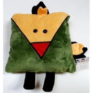 "Zoo ""Pierre"" The Parrot Plush Pillow for Kids Ages 3+ by Zooklz [並行輸入品]"