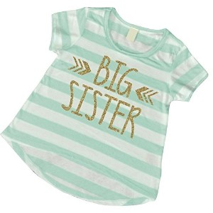Big Sister Shirt, Baby Girl Clothes, Big Sister Gift (3T) by Bump and Beyond Designs
