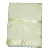 LUXEHOME Super Soft Microfiber Plush Baby Blanket (Yellow) by LUXEHOME