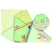 BlueberryShop Tweety Pie Swaddle Wrap Blanket Sleeping Bag for Newborn baby shower GIFT 100% Cotton...
