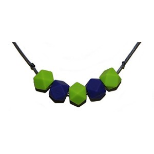 Designer Baby Teething Necklace for Mom, BPA Free 100 % Organic Silicone Is Safe and Non Toxic,...