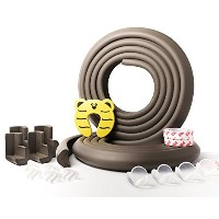 Corner Guards and Edge Bumpers-Exactly 20 Ft-Safety Child PRE-TAPED CORNERS-Table Corner Protectors...