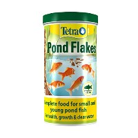 Tetra Pond Flakes (Pot Size: 180g)