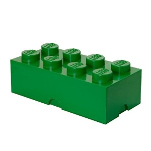 [レゴ]LEGO Storage Brick 8, Dark Green 40040634 [並行輸入品]