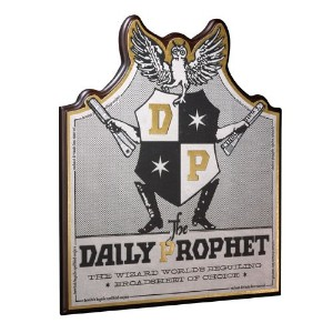Daily Prophet Wall Plaque Harry Potter The Nobleコレクション