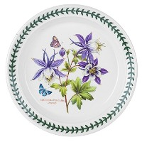 Portmeirion Exotic Botanic Garden Salad Plate with Dragonfly Motif, Set of 6 [並行輸入品]