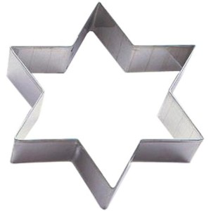 Paderno World Cuisine Stainless Steel Star Cookie Cutter [並行輸入品]