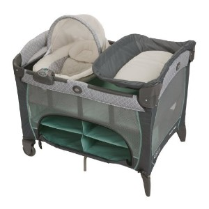 Graco Pack 'N Play Playard with Newborn Napperstation DLX Manor by Graco [並行輸入品]