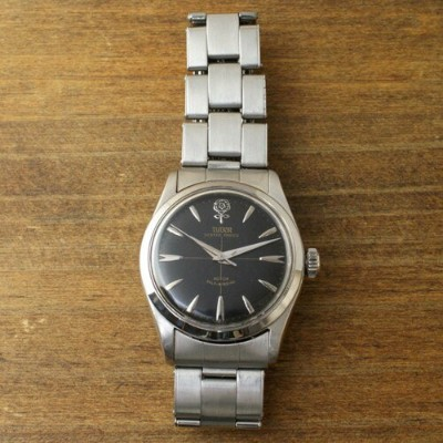 【中古】TUDOR BIG ROSE PRINCE OYSTER + ROLEX BELT