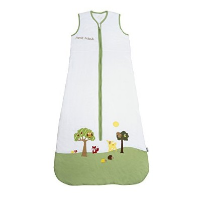 SlumberSafeTM Baby Cotton Sleep Sack Wearable Blanket 2.5 Tog Forest Friends 0-6 months SMALL by...