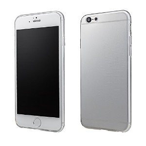 Helium Super Thin TPU Case for iPhone 6 Clear iPhone6 iPhone4.7インチ 極薄 黄ばまない 張り付かない シボ加工 ソフトケース