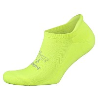 Balega Hidden快適Athletic No Show Running Socks for Men and Women withシームレスつま先 イエロー