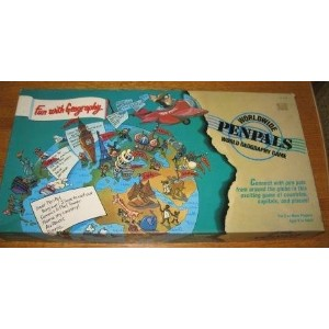 Worldwide Pen Pals World Geography Game (1989)