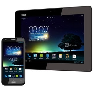 ASUS  PadFone2 ブラック ( Android 4.1 / Qualcomm Snapdragon S4 Pro Krait ( Cortex-A15 class ) プロセッサ )...