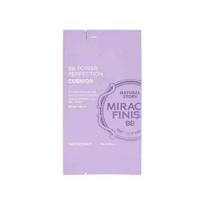 THE FACE SHOP BB Power Perfection Cushion V103 Pure beige SPF50+ PA+++ [REFILL] ザ フェイスショップ...