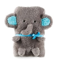 Mud Pie Baby Blanket - Elephant by Mud Pie
