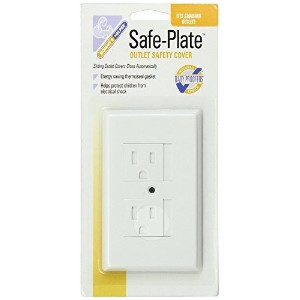 Mommys Helper Safe Plate Electrical Outlet Covers Standard, - 4 Count by Mommy's Helper