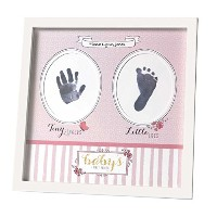 Carter's Baby's First Prints Keepsake Photo Frame, Sweet Sparkle by Carter's
