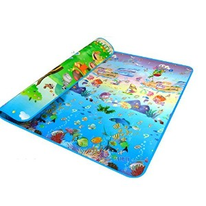 MaBoShi.79*71*0.2 Inches Extra Large Baby Crawling Mat Playmat Foam Blanket Rug by Maboshi