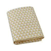 Dwell Studio Crib Fitted Sheet (Pyramid) by Dwell Studio