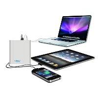 Lizone® Extra Pro プロスーパー容量26000mAh ポータブル外付け バッテリー 充電器 パワーバンク Apple MacBook Air / MacBook Pro /...