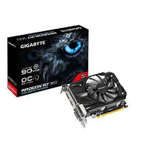 Gigabyte AMD R7 360 128 Bit GDDR5 2GB 2xDVI/HDMI/DP Overclocked Graphics Card GV-R736OC-2GD [並行輸入品]