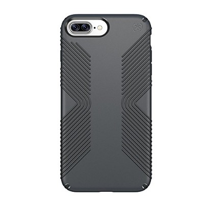 Speck Products Presidio Grip Cell Phone Case for iPhone 7 Plus - Graphite Grey/CHARCOAL Grey [並行輸入品]