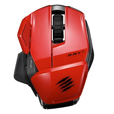 Mad Catz Office R.A.T.M Wireless Mobile Mouse for PC and Android - Red [並行輸入品]