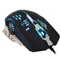 Sades Flash Wing Mouse, Black 2400 DPI Wired Optical LED 6 Buttons Gaming Mouse For Pro Gamers...