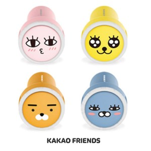 【Kakao friends】カカオフレンズ車用充電器2ポート/Kakao friends charger 2 port for car/4種・韓国KAKAO FRIENDS正品