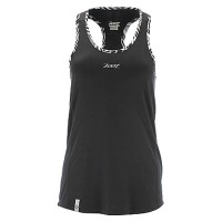 ZOOT W CHILL OUT SINGLET BLACK
